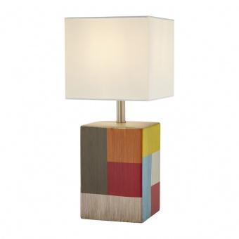 керамична настолна лампа, colorful, nino, sea, 1x40w, 51270117
