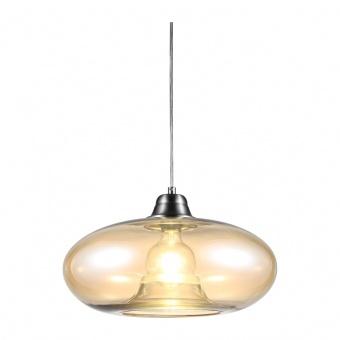 стъклен пендел, amber colored, nino, lille, 1x40w, 30040123
