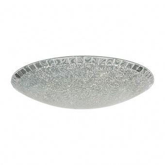 стъклен плафон, silver colored, nino, amalfi, led 8w, 3000k, 800lm, 61013044