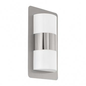 метално градинско тяло, stainless steel, eglo, cistierna, 2x10w, 98085