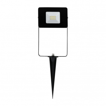 метален прожектор, black, eglo, faedo 4, led 10w, 4000k, 900lm, 97471