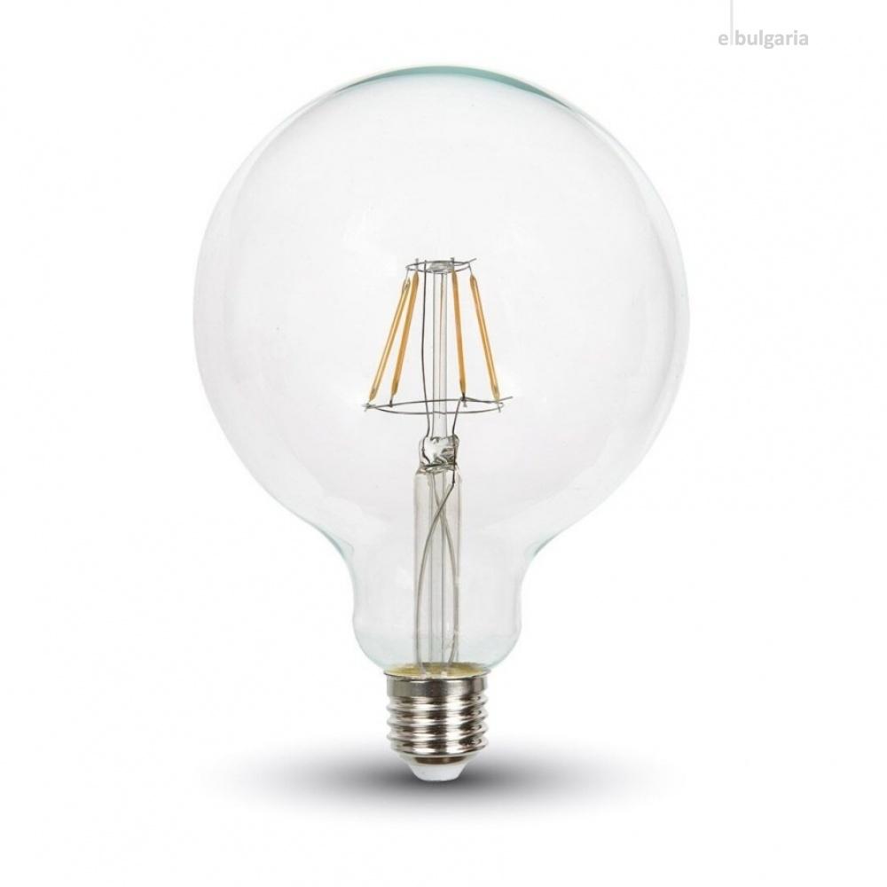димируема led лампа 4w, e27, топла светлина, 3000k, 320lm, 4399