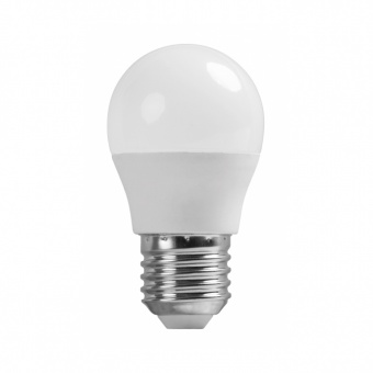 led лампа 3w, e27,топла светлина, ultralux, 2700k, 280lm, lbg32727
