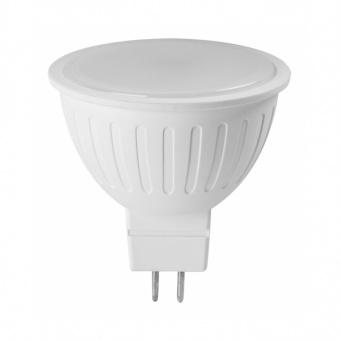 led лампа 3w, mr16, топла светлина, ultralux, 2700k, 250lm, lgs16327