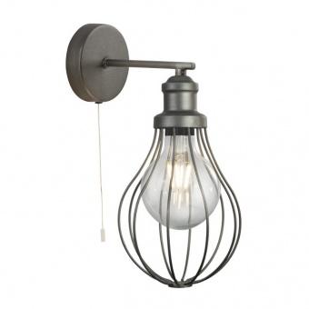 метален аплик, pewter colour, searchlight, balloon cage, 1x40w, 1380pw