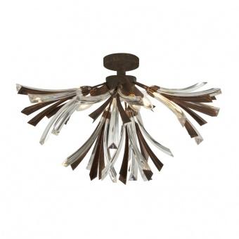 метален полилей, black brushed gold, searchlight, shake, 3x40w, 2573-3br