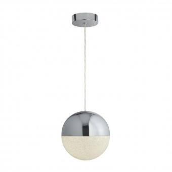 метален пендел, chrome, searchlight, marbles, led 18w, 4000k, 950lm, 5881cc