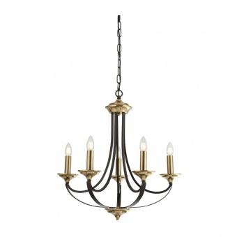 метален полилей, brown/bronze, searchlight, belfry, 5x40w, 1845-5bz