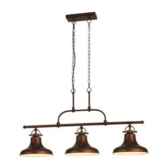 метален полилей, antique bronze, searchlight, dallas, 3x40w, 3193-3bz