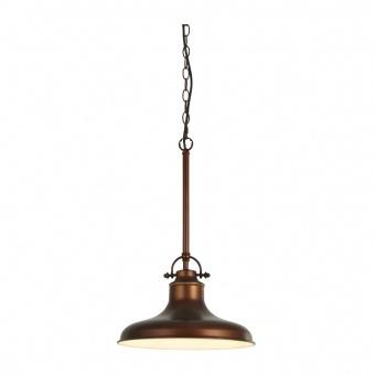 метален пендел, antique bronze, searchlight, dallas, 1x40w, 3181bz
