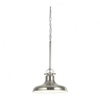 метален пендел, satin silver, searchlight, dallas, 1x40w, 3181ss