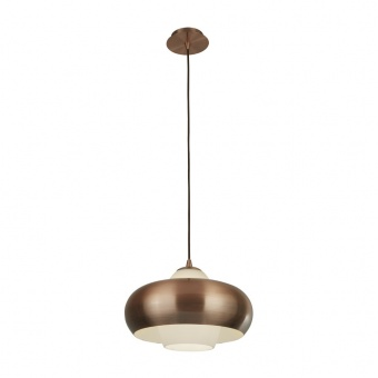 стъклен пендел, copper, searchlight, pendants, 1x40w, 3681-1cu