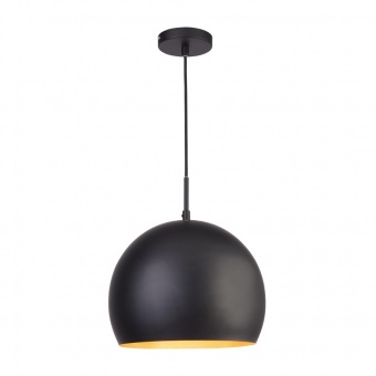 метален пендел, black, searchlight, industrial pendants, 1x40w, 3038bk