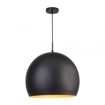 метален пендел, black, searchlight, industrial pendants, 1x40w, 3039bk
