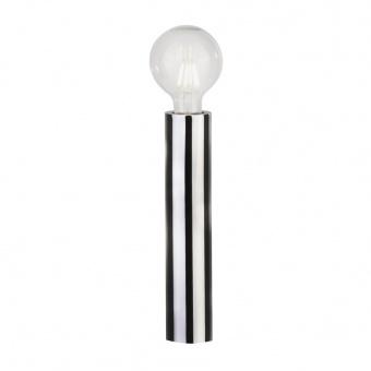 метална настолна лампа, chrome, searchlight, porter, 1x40w, eu6151cc