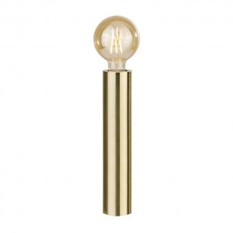 метална настолна лампа, gold, searchlight, porter, 1x40w, eu6151go