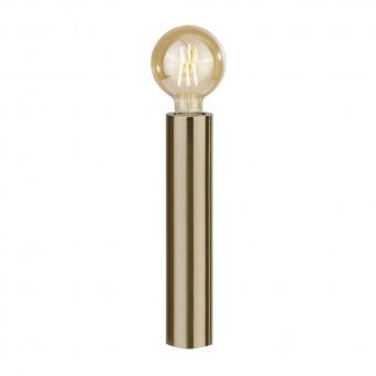 метална настолна лампа, antique brass, searchlight, porter, 1x40w, eu6151ab