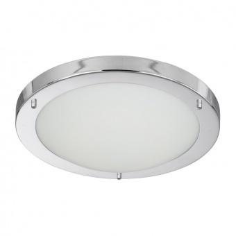 стъклен плафон, chrome, searchlight, led flush, led 12w, 3000k, 600lm, 8702cc