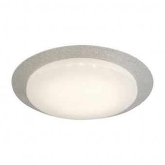 стъклен плафон, white, searchlight, flush, led 14w, 3000k, 870lm, 1071-36