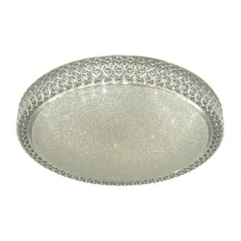 кристален плафон, clear/crystal sand, searchlight, flush, led 36w, 3000k-5000k, 3000lm, 0546-50