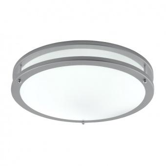pvc плафон, grey, searchlight, flush, 1x36w, 3000k, 2000lm, 2119-40-led
