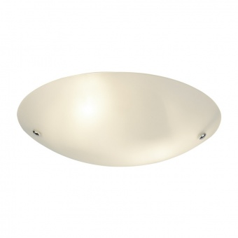 стъклен плафон, white, searchlight, flush, 2x40w, 3165-30
