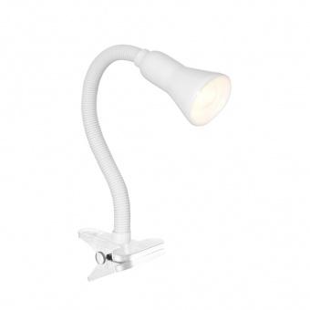 метална работна лампа, white, searchlight, desk partners, 1x40w, eu4122wh