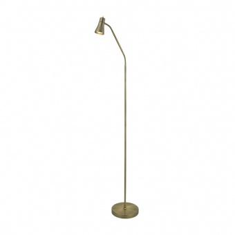 метален лампион, antique brass, searchlight, fusion, 1x10w, eu1007ab