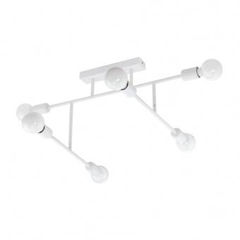 метален плафон, white, eglo, belsiana, 6x40w, 98032