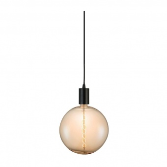 led лампа 8w, е27, топла светлина, amber, searchlight, giant led spiral filament globe, 2200k, 800lm, 1118am