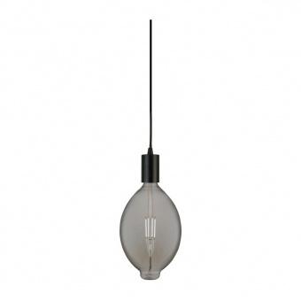 led лампа 8w, е27, топла светлина, smoke, searchlight, giant led spiral filament balllon, 2200k, 500lm, 1112sm