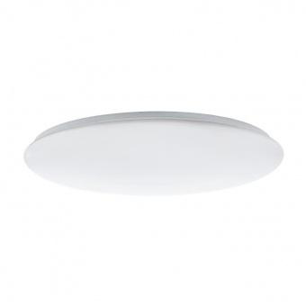 pvc плафон, white, eglo, giron, led 60w, 3000-5000k, 5800lm, 97527