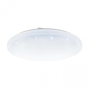 pvc плафон, with crystal , eglo, frania-s, led 33.5w, 3000k, 3900lm, 97879