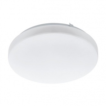 pvc плафон, white, eglo, frania, led 11.5w, 3000k, 1350lm, 97871