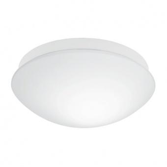стъклен плафон, white, eglo, bari-m, 1x20w, 97531