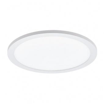 led панел за вграждане, white, eglo, sarsina, led 24w, 4000k, 2400lm, 97501