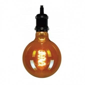 led лампа 5w, e27, топла светлина, led vintage, 2200k, 350lm, 4179