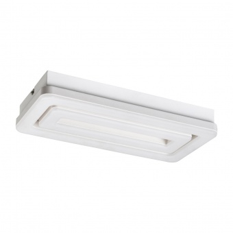 метален плафон, matt white, rabalux, alana, led 40w, 3000k, 2400lm, 5648