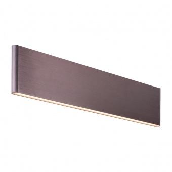 метален аплик, brown, rabalux, elinor, led 12w, 3000k, 640lm, 5652