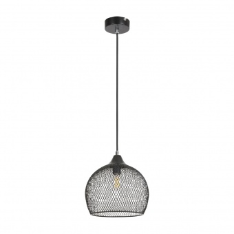 метален пендел, black, rabalux, ronan, 1x40w, 7601