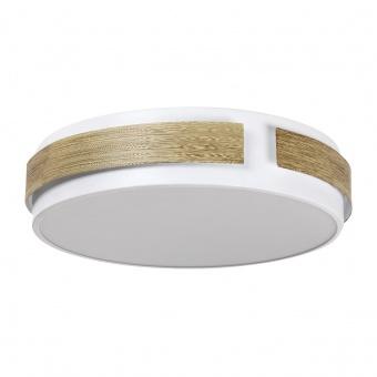 метален плафон, white, rabalux, salma, led 24w, 3000k, 1680lm, 5646