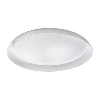 pvc плафон, white, rabalux, lewis, led 40w, 3000-6500k, 3600lm, 1512