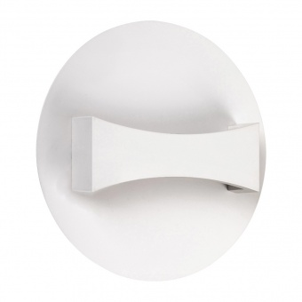 метален аплик, matte white, rabalux, neville, led 6w, 3000k, 280lm, 1437