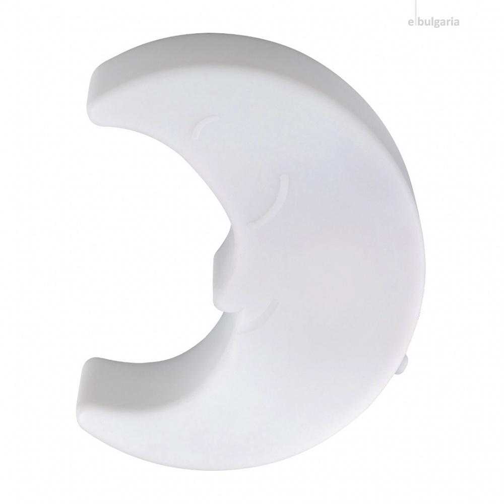 pvc настолна лампа, white, rabalux, lizzy, 3000k, 0.18w, 1475