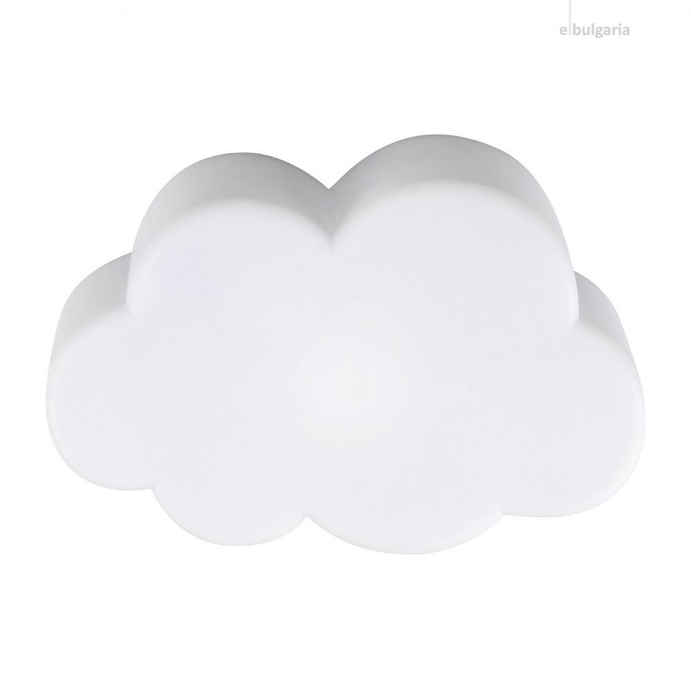 pvc настолна лампа, white, rabalux, lizzy, 3000k, 0.18w, 1476