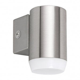 метално градинско тяло, satin chrome, rabalux, catania, led 4w, 4000k, 350lm, 8936