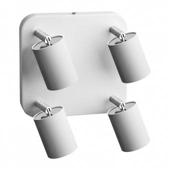 метален спот, white, nowodvorski, eye spot, 4x35w, 6017