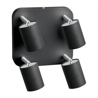 метален спот, graphite, nowodvorski, eye spot, 4x35w, 6137