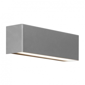 метален аплик, silver, nowodvorski, straight led wall xs, 1x40w, 6354