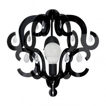 метален аплик, black, nowodvorski, katerina, 1x40w, 5218